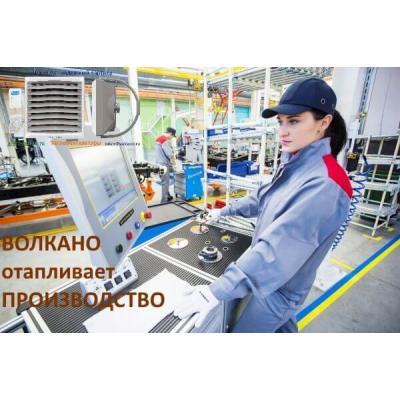 Отопление производственных зданий