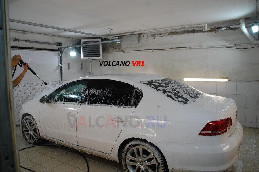 Отопление VOLCANO для автомойки. Как подобрать обогреватель для автомойки?