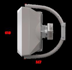 VOLCANO VR Mini ec вид справа на консоли
